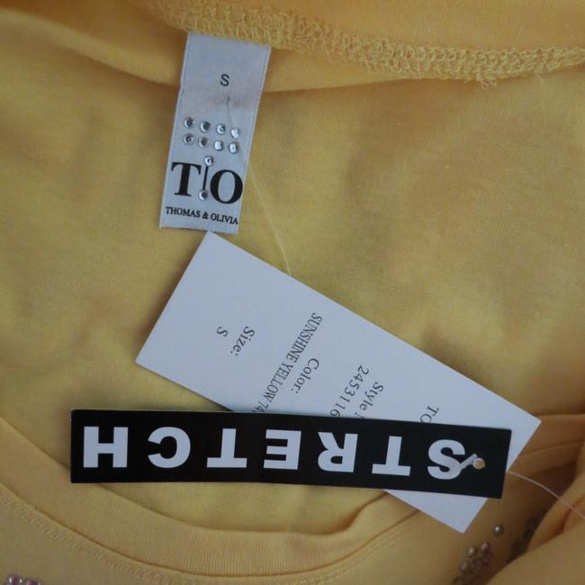 Thomas & Olivia T Shirt Yellow