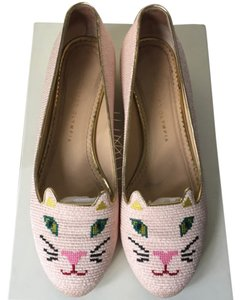 Charlotte Olympia Pink Flats