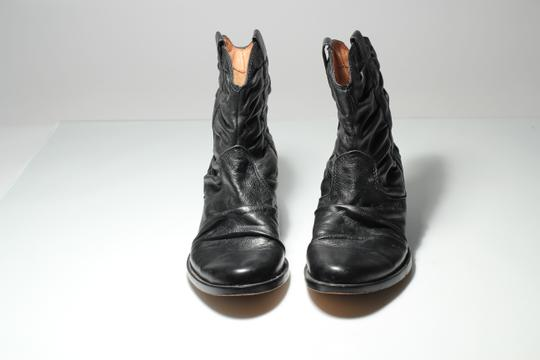 Corso Como Ruched Leather black Boots