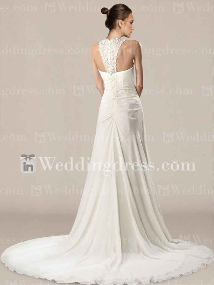 t back wedding dress discount wedding dresses