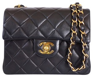 Chanel Mini Classic Vintage Cross Body Bag