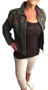Chico's Womens Jean Jacket