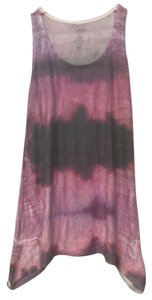Go Couture Top Pink Tie Dye