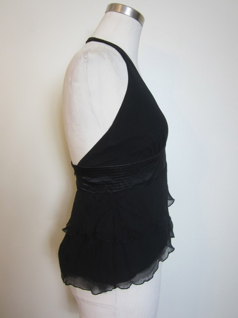 Laudry by Shelli Segal Black Halter Top