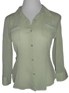 Emma James Top Light Green