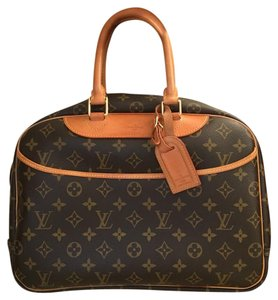 Louis Vuitton Deauville Satchel in brown