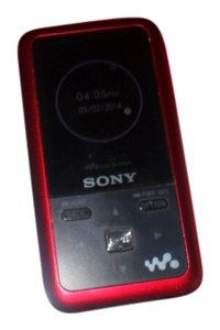 Sony Sony 4 GB Walkman Video MP3 Player (Red)