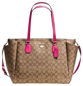 Coach PINK RUBY Diaper Bag