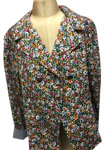 Christopher & Banks Multy color Flowers Print . Blazer