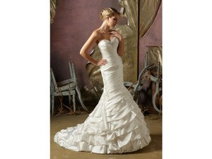 Mori Lee Mori Lee Blu 4962 Wedding Dress