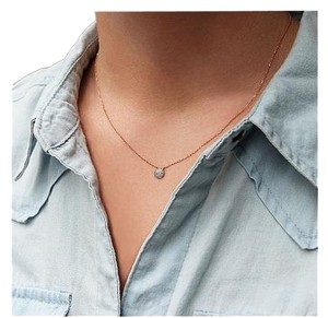 Dana Rebecca Designs Dana Rebecca Lauren Joy Mini Necklace in Rose Gold