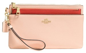 Coach LARGEwristlet with pop-up pouch 52985