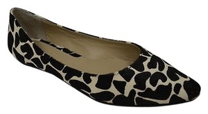 Maxco Blackivory Animal Print Black/Ivory Flats
