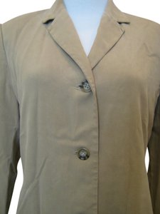 Banana Republic Banana Republic Silk Camel Tan Beige Career Pant Suit Size 4
