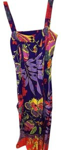 Floral, multicolor Maxi Dress by Anthropologie 2 Front Pockets