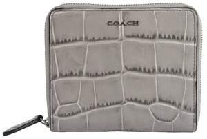 Coach Coach Madison Embossed Leather Grey Birch new with tag F 50905