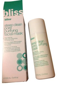 Bliss New bliss steep clean pore purifying facial mask 100ml