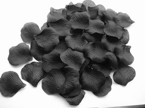 5000x Black Silk Rose Petal More Color Availables