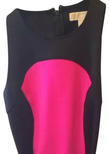 Michael Kors short dress Black/pink on Tradesy