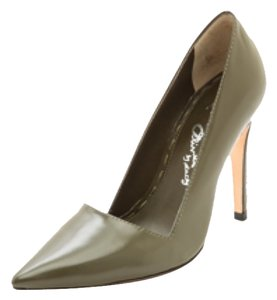 Alice + Olivia GREEN (ARMY GREEN) Pumps
