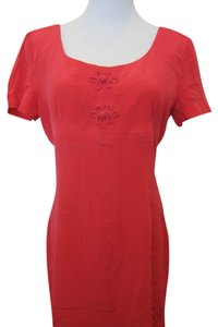 Maggy London short dress Bright Red on Tradesy