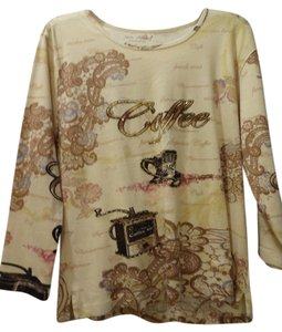 Jane Ashley T Shirt Pale yellow
