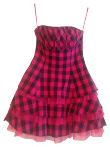 Betsey Johnson Tull Plaid Dress