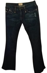 Frankie B Boot Cut Jeans-Distressed