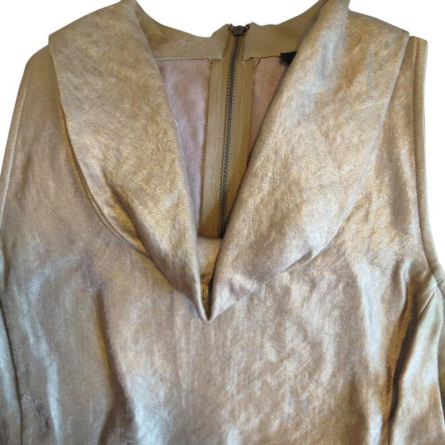 Ann Taylor Top Gold