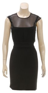 Stretta short dress Black on Tradesy