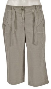 J.Crew Casual Pants City Fit Capris Concrete with Faint Abstract Pattern