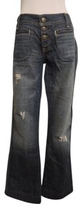 Old Navy Boot Cut Jeans-Distressed