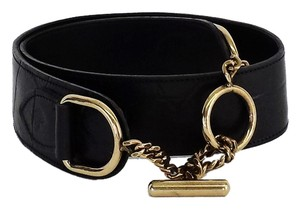 Mulberry Black Leather Belt