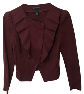 INC International Concepts Maroon Jacket