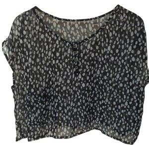Cecico Top Black, white