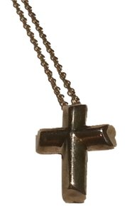 Tiffany & Co. Tiffany & Co. Paloma Picasso 925 Silver Cross Necklace