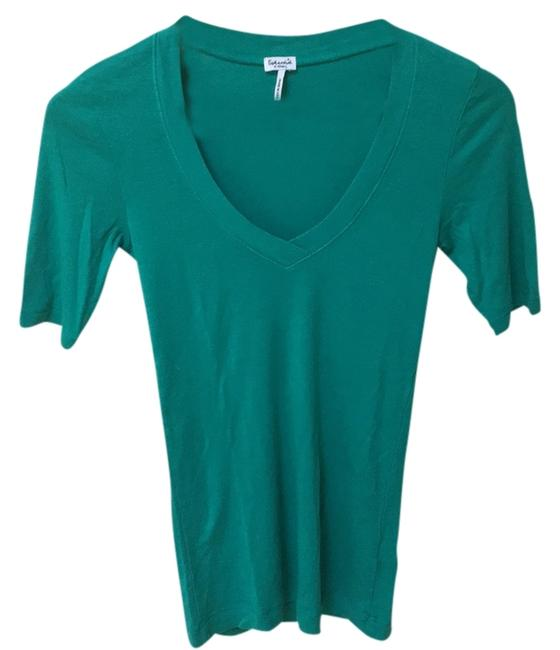 Preload https://img-static.tradesy.com/item/7736527/splendid-green-tee-shirt-size-0-xs-0-1-650-650.jpg