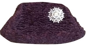 Valerie Stevens Brown Clutch