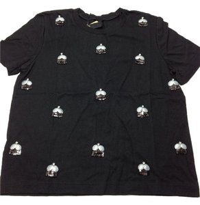 Mother of Pearl T Shirt Black