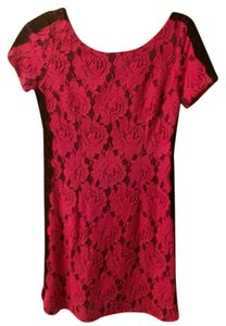 Tracy Reese Lace Floral Velvet Mini Dress