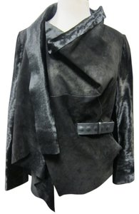 Karl Donoghue Calf Skin Shearling Fur Coat