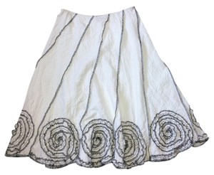 Sunny Leigh Skirt white blue