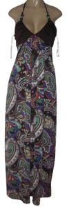 Multi Paisley Maxi Dress by XOXO
