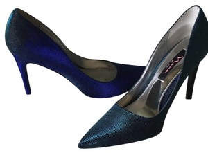 Nina Shoes Two-tone Iridescent teal/blue Formal