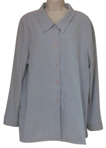 Casual Corner baby blue Jacket