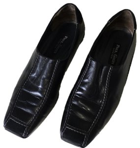 Paul Green Comfortable Rubber Soled Black Flats