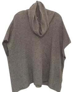 Rafaella Gray Poncho Sweater