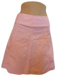 Guess Jeans Knee Length Skirt Pink