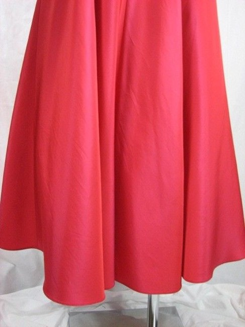 Nicole Miller Waterelon Red Red Bows Formal Dress
