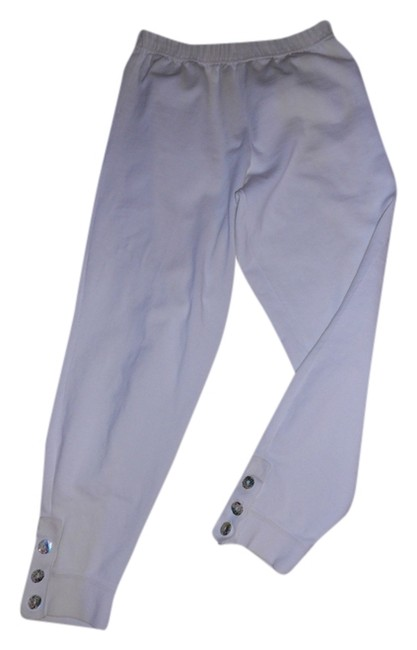 LOU NARDI NEW YORK Baggy Pants CREAM
